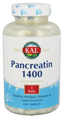 Kal: Pancreatin 500ct 1400mg