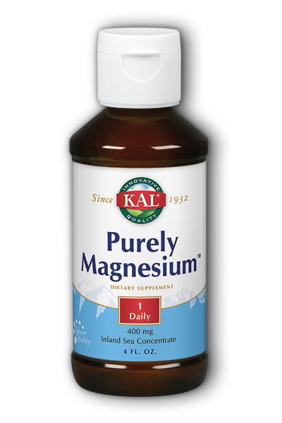Purely Magnesium 4 Liq 400mg from KAL