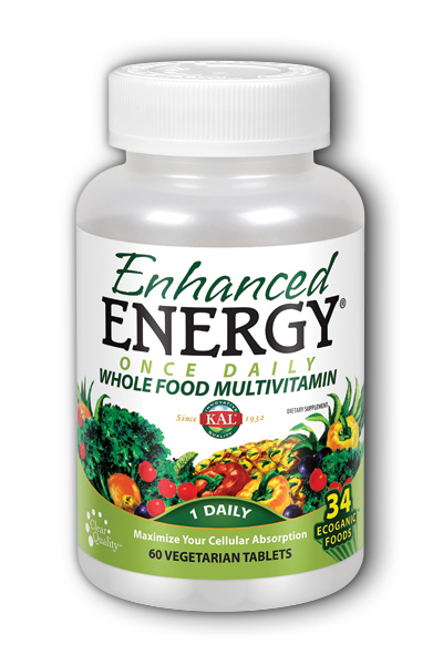 Kal: Enhanced Energy Once Daily 60 ct