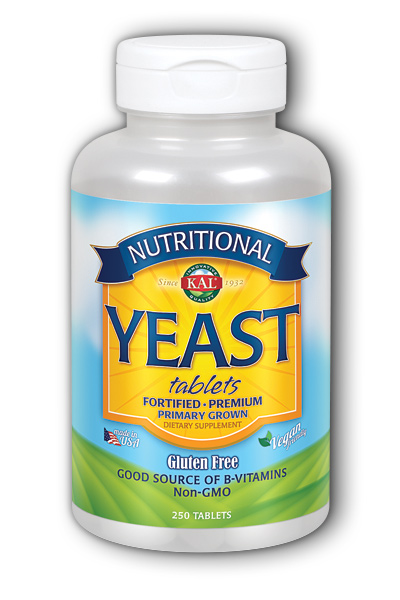 Kal: Nutritional Yeast 250ct