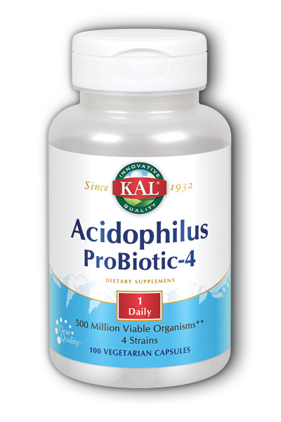 Acidophilus Probiotic-4, 100ct