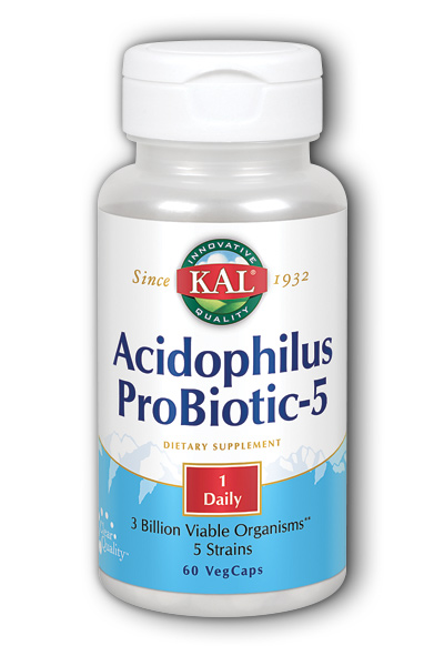 Acidophilus Probiotic-5, 60ct 3bil