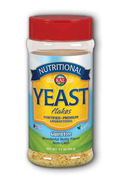 KAL: Nutritional Yeast Unflavored 3.1 oz Flakes