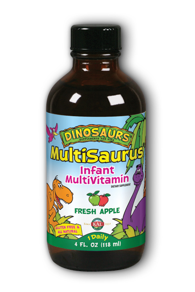 KAL: MultiSauris Infant Multi 4oz liq apple