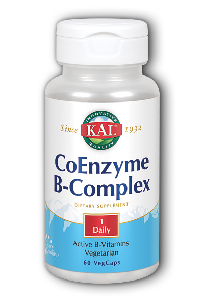 Kal: Coenzyme B-Complex 60ct