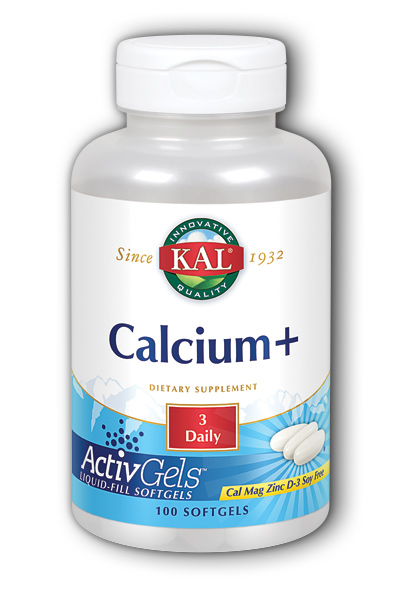 Kal: Calcium Plus 100ct