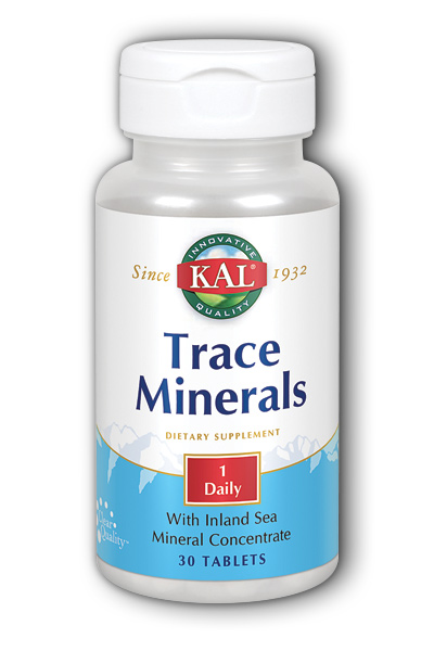 Kal: ActiSorb Trace Minerals 30ct
