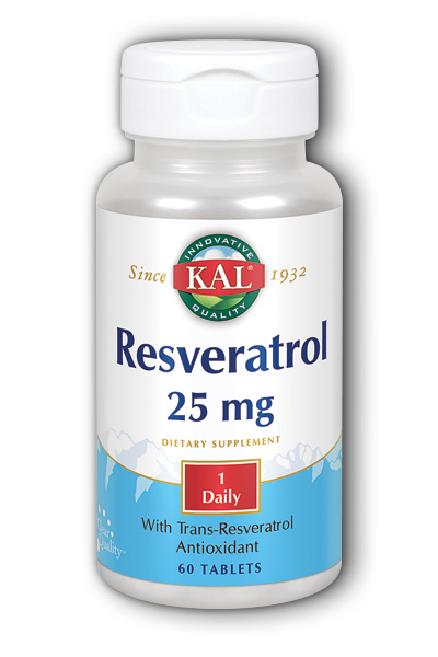 Resveratrol, 60ct 25mg