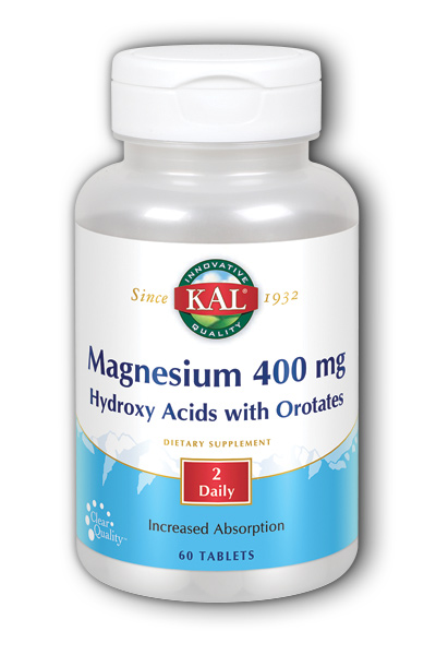ActiSorb Magnesium, 60ct 400mg