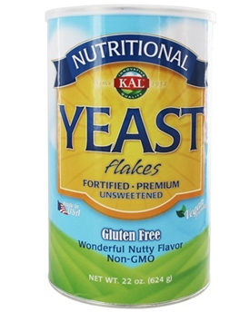 Nutritional Yeast Flakes 2 Pwd (2 x 22oz) from KAL