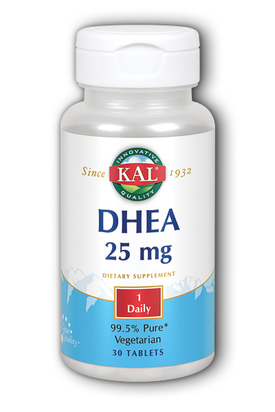 Kal: DHEA-25 30ct 25mg