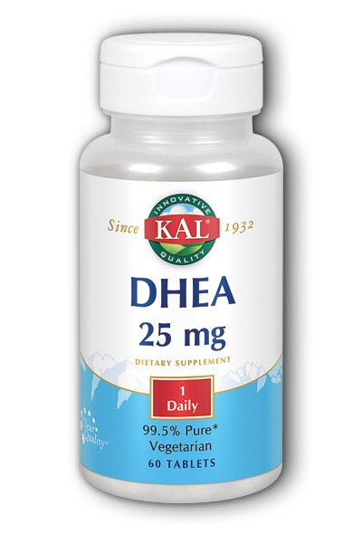 Kal: DHEA-25 60ct 25mg