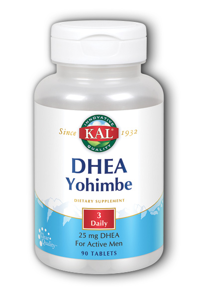 Kal: DHEA with Yohimbe 90ct