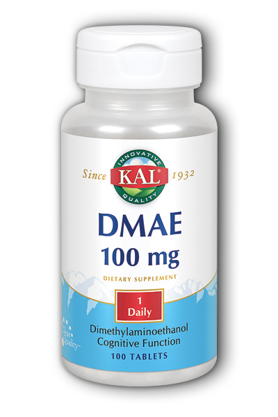 Kal: DMAE 100ct 100mg