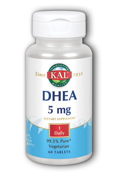 Kal: DHEA-5 60ct 5mg