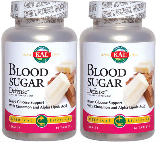 Blood Sugar Defense Twinpack (Free Shipping), 60ct + 60ct