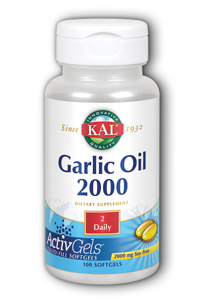 Kal: Garlic 1500 100ct 3mg