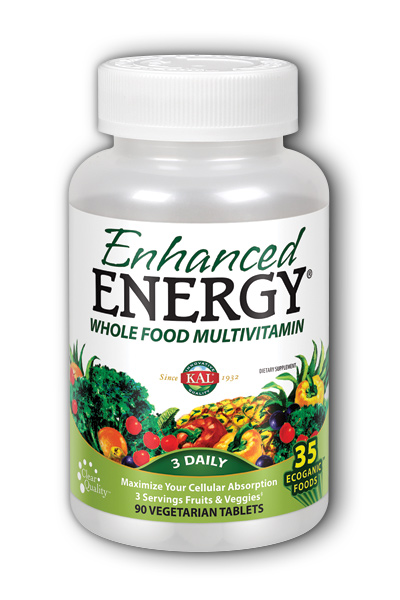 KAL Enhanced Energy with Lutein, 90ct