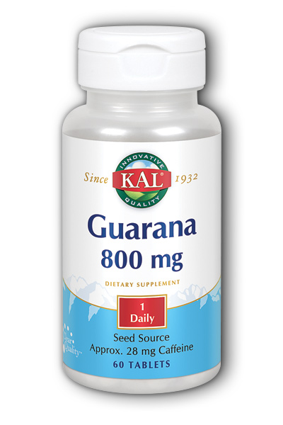 Kal: Guarana 60ct 800mg