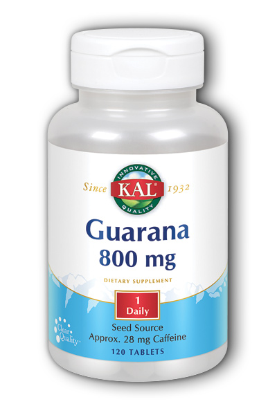 KAL: Guarana 120ct 800mg
