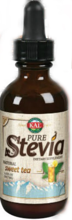 KAL: Pure Stevia liquid Extract (Sweet Tea) 1.8 oz Liq