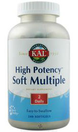 Kal: High Potency Soft Multiple 240ct