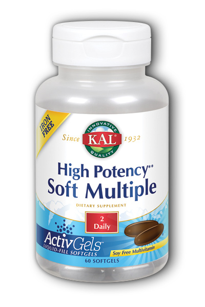 Kal: High Potency Soft Multiple Iron-Free 60 ct