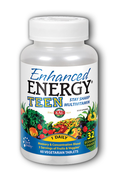 Enhanced Energy Teen Complete, 60ct