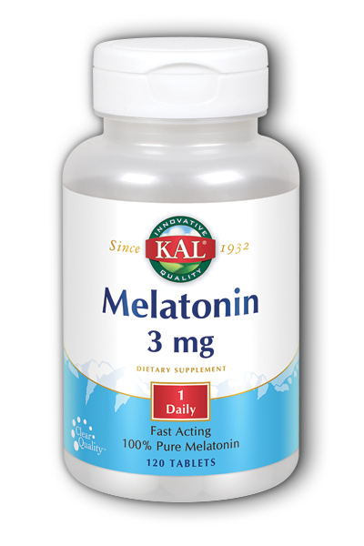 Kal: Melatonin-3 120ct 3mg