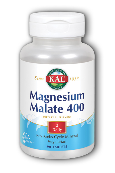 Magnesium Malate 400, 90ct 400mg