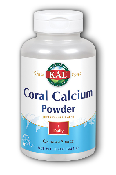 Coral Calcium Powder 8oz 3g from Kal