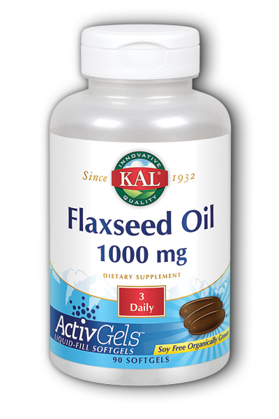KAL: High Lignan Flaxseed Oil 90ct  Softgel