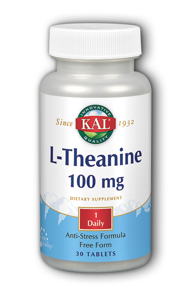 L-Theanine, 30ct 100mg