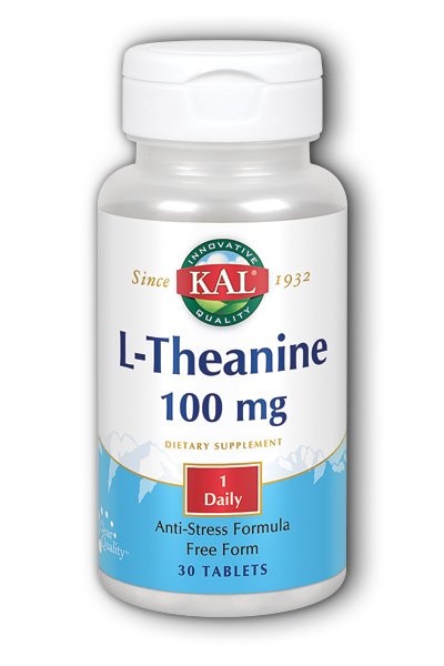 Kal: L-Theanine 30ct 100mg