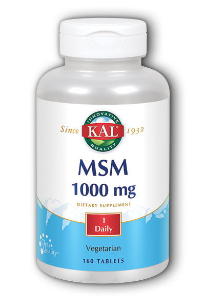 Kal: M.S.M. 160ct 1000mg