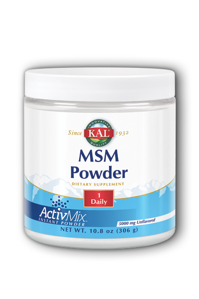 Kal: MSM Powder 10.8oz 5mg