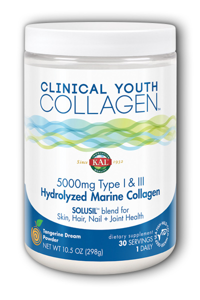 KAL: Clinical Youth Collagen  Type I and III Marine 10.5oz (298 g)