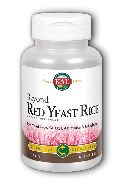 Beyond Red Yeast Rice, 60 ct