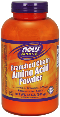 NOW: Branched Chain Amino Acid Powder 12 oz.