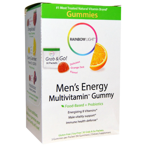 RAINBOW LIGHT: Men's Energy Multivitamin Gummies 30 pkt