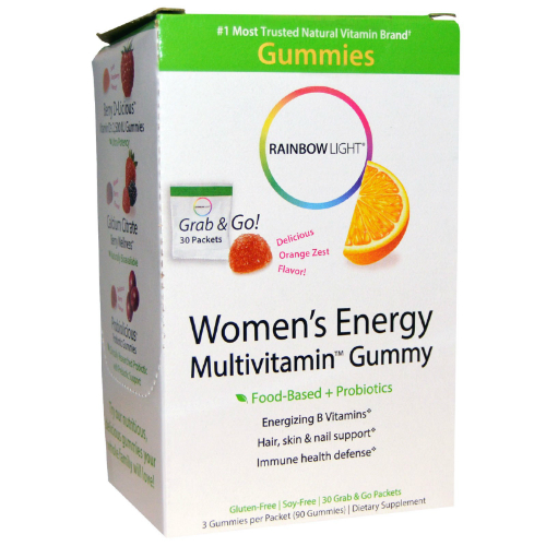RAINBOW LIGHT: Women's Energy Multivitamin Gummies 30 pkt