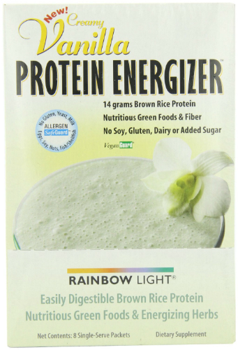 RAINBOW LIGHT: Vanilla Protein Energy 8 ct