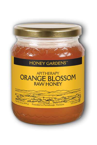 Raw Honey Orange Blossom, 1lb Liq