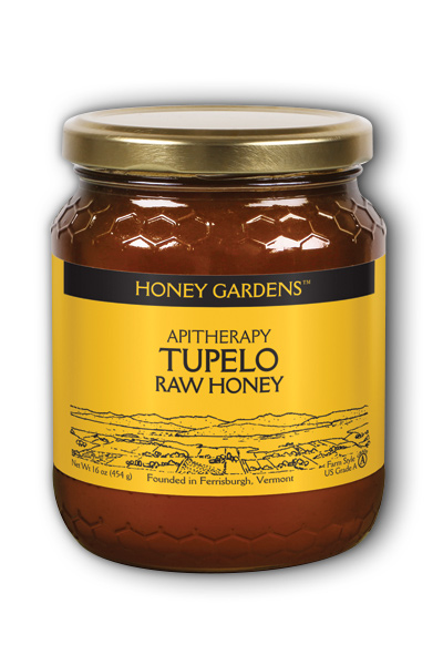 Raw Honey Tupelo, 1lb Liq