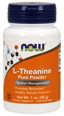 NOW: L-Theanine Pure Powder 1oz