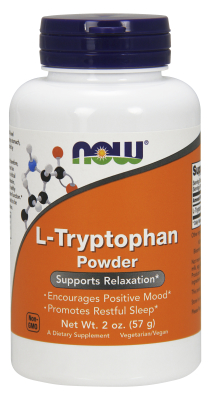 NOW: L-Tryptophan 500 mg 2 oz