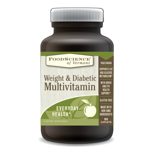 Weight & Diabetic Multivitamin, 90 capsule