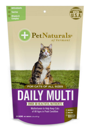 Daily Multi For Cats 30 chew from PET NATURALS OF VERMONT
