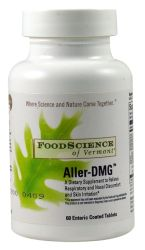 FOODSCIENCE OF VERMONT: Aller-DMG 60 tabs
