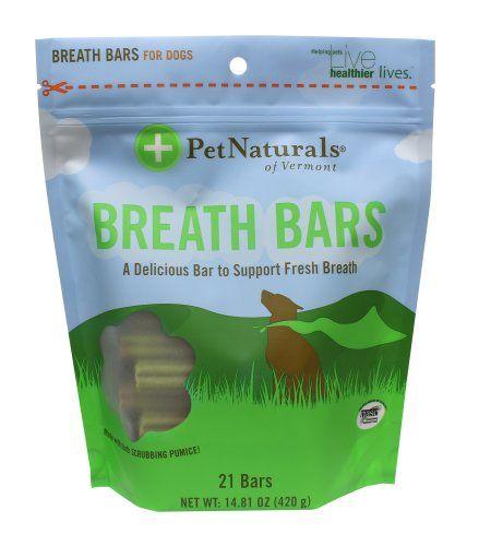 PET NATURALS OF VERMONT: Breath Bars 21 BAR